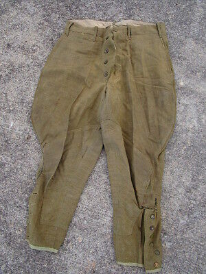 Original WWI US Cavalry Style Riding Uniform Pants ~ #2
