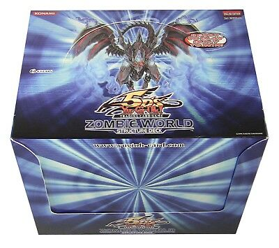 Yu-Gi-Oh! TCG: 5Ds Zombie World Box of 8 Structure Decks of 40 Cards English Ed
