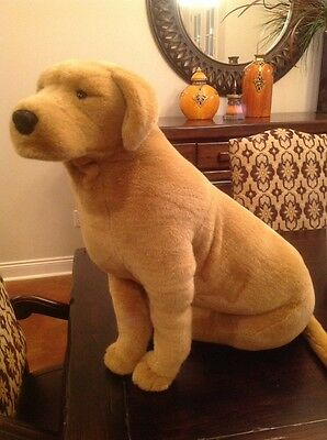 Melissa & Doug Plush Yellow Lab Oversized