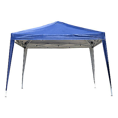 Outsunny 10x10' Pop Up Canopy Party Wedding Tent Outdoor Patio Sun Shade Shelter