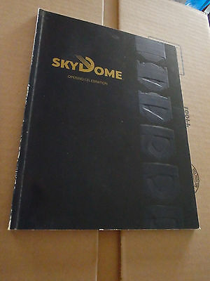 Vintage Original 1989 Skydome Opening Celebration Book/Program