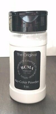 *NEW* RCMA No-Color Powder 3oz - Face cosmetic Loose Powder -Shaker Top Bottle !