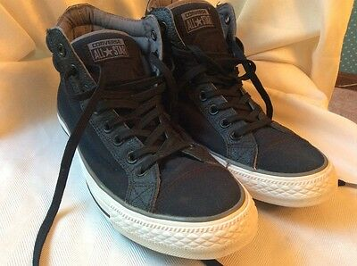 Converse All Star black hightop sneakers men's  size 9 women's size 11M