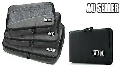 Travel Electronic Accessories USB Cable Organizer Bag Drive Insert Storage Case