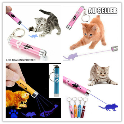 Cat LED Laser Pointer Toy With Bright Mouse Animation For Endless Fun 5 Colors