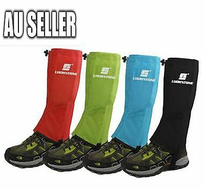 1 Pair Men's Outdoor Hiking Hunting Snow Snake Waterproof Boots Legging Gaiters