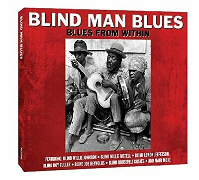 Various Artists - Blind Man Blues - Various Artists CD AKVG The Cheap Fast Free