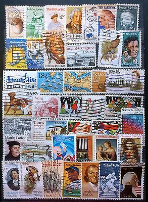 USA United States GREAT LOT of 41 used Commemoratives 1981-1984   Lot #87