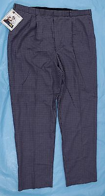 Chef Pants Sz 46 Chef Works Striped Rectangles Cooking Restaurant Pockets New