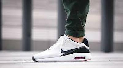 uk cheap sale buy sale half off NEW NIKE AIR Max Modern Flyknit Men's Running Shoes white ...