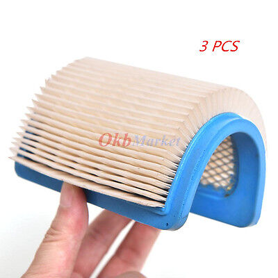3X HEPA Air Filter For Briggs&Stratton 491588 491588S 5043 5043D 399959 119-1909