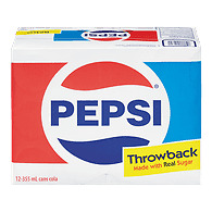 Pepsi Throwback 12x355mL (12 Ounce) Pack Limited Edition Summer 2017 ONLY