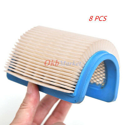 8x HEPA Air Filter For Briggs&Stratton 491588 491588S 5043 5043D 399959 119-1909