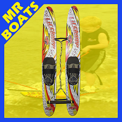 Kid's Waterskis ✱ Ron Marks ✱ Junior Trainers Children Kid Water Ski Free Post