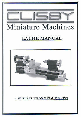 Clisby Lathe Manual - New