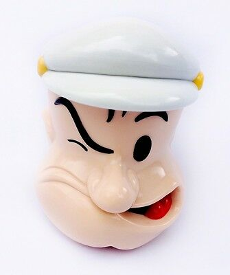 Popeye The Sailor Man King Features Syndicate Lidded Plastic Mug Cup