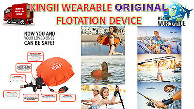 Original Kingii Wristband Wearable Flotation Water Safety Device Life Preserver