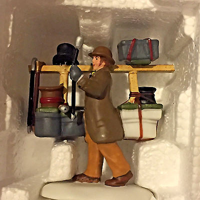 DEPT 56 DICKENS' VILLAGE Accessory THE BEST IN HATS & WALKING STICKS Excellent
