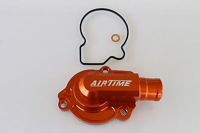 Airtime New Cnc Billet Orange Ktm 125Xcw 150Xcw Water Pump Cover 2017 -Or372