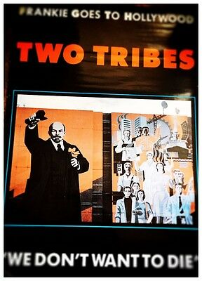 Frankie Goes To Hollywood // Two Tribes // We Don't Want To Die // Large Poster