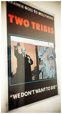 Frankie Goes To Hollywood  // Two Tribes  // Too Young To Die // Large Poster //