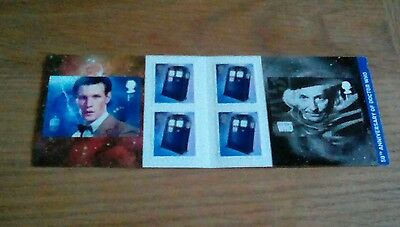 PM36  2013 Doctor Who 6 x 1st Class Self Adhesive Booklet