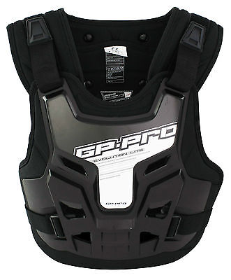 Gp-Pro Motocross Mx Chest Roost Protector Body Armour Neck Brace Compatible