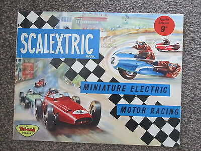 Scalextric catalogue - 4th edition 1964