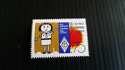 Sri Lanka 1977 Sg 647 60Th Anniv Of Girl Guides  Mnh
