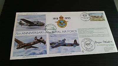 British Indian Ocean Territory 1993 Sg 139 75Th Of Royal Air For First Day Cover