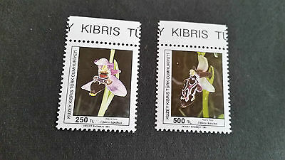 Turkish Cyprus 1991 Sg 34-305 Orchids (1St Series) Mnh