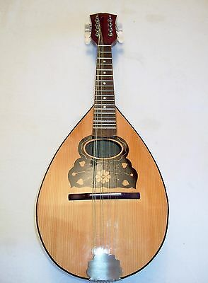 Superb Electro Acoustic, Bowlback, Mandolin, in good playing order & condition.