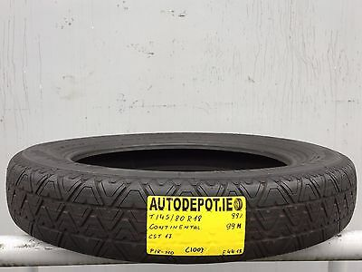 T145/80R18 CONTINENTAL CST17 99M SPARE Part worn tyre  (C1003) AS NEW
