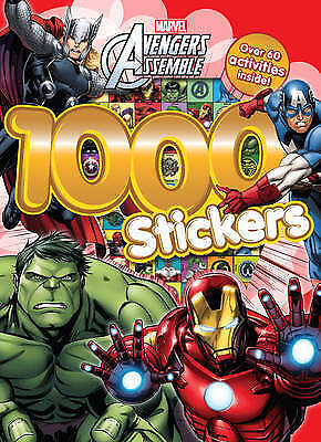 Avengers 1000 Stickers, Sticker and Activity book[ Paperback]