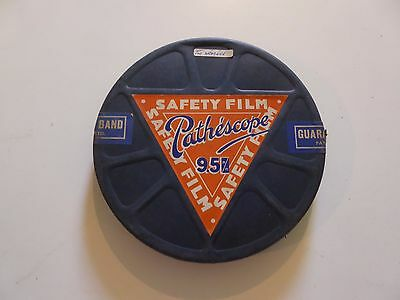 Vintage 9.5 MM PATHESCOPE FILM - THE WRECKER on 300FT Reel
