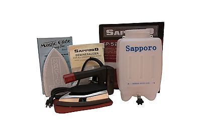Sapporo SP527/SP-527 Gravity Feed Bottle Steam Ironing System with Deminerali...