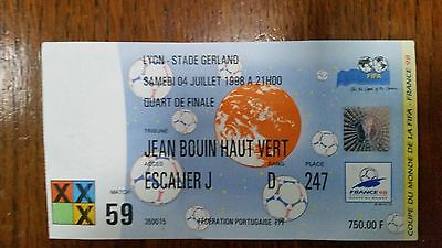 Ticket World Cup 1998 Germany v Croatia, quarter-final in Lyon
