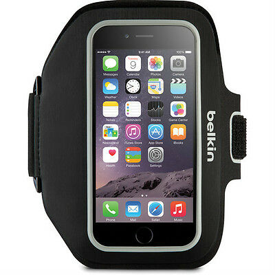 BELKIN ARMBAND FOR APPLE IPHONE 6 plus  6SPlus  7 7Plus SPORT-FIT PLUS  BLACK