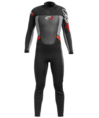 Osprey - Origin Mens Long Wetsuit 3/2mm - Red