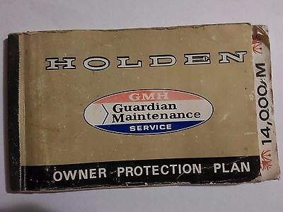 vintage holden owner protectio n plan