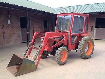 Kubota L245DT 4WD Compact Tractor & Front Loader