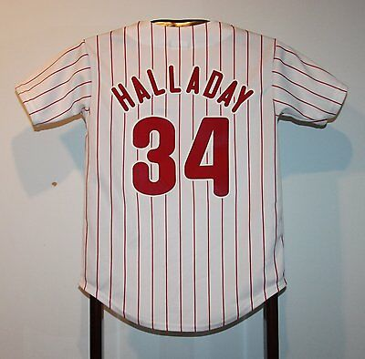 Maillot Trikot Jersey Mlb Baseball Roy Halladay Philadelphia Phillies 12 ans