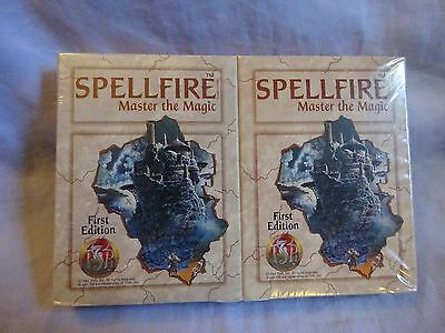 Spellfire first edition cards sealed.110 cards.