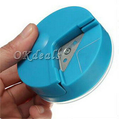 New Craft Scrapbooking Photo Cutter Tool Paper Punch Card R4 Corner Rounder