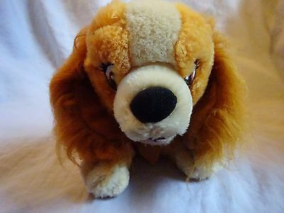 Lady soft toy from Disney's Lady and the tramp.