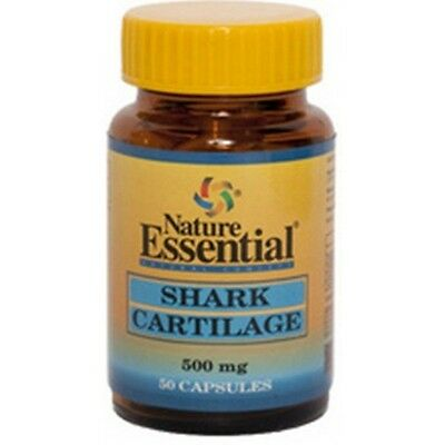 Cartílago de Tiburón 500mg 50 cápsulas Nature Essential