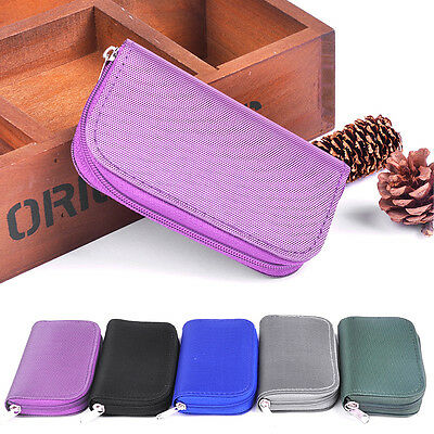 Durable Potable Memory Card Holder Storage Carrying Case Bag for SDHC SD Cards