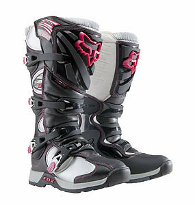 Fox Racing Comp 5 Womens MX/Offroad Boots Black/Pink size 5 USA