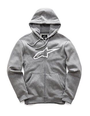 Hoody Alpinestars Ageless Fleece Zip Farbe: Grau Gr: 08=XL