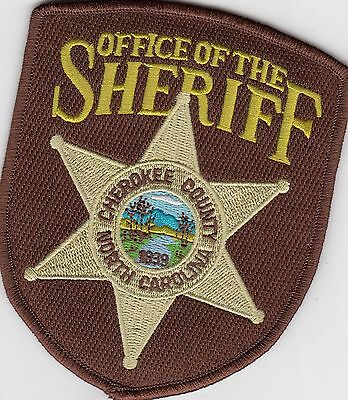Cherokee County Office Of The Sheriff North Carolina Nc Police Patch